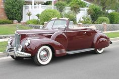 1941 Packard 160 Convertible Coupe
