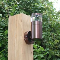Aries Wall Light - 12v - Mahogany Anodised