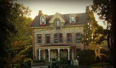 The Lardin House~ Historic home converted into elegant restaurant in Masontown, Pennsylvania