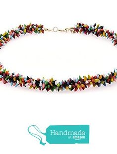 "Collar de Conchas Naturales modelo ""Podrs"" multicolor La Toja de Artesania La Toja - LATCOR https://www.amazon.es/dp/B01LVW3DIH/ref=hnd_sw_r_pi_dp_KDN9xbHTT6Y3F #handmadeatamazon"