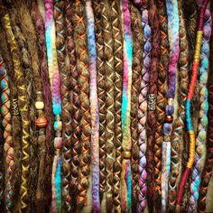 Getting ready for festival season! Boho dreads