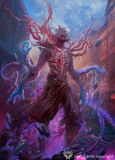 Eldrazi-horror by Vasylina.deviantart.com on @DeviantArt