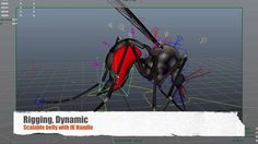 Demo Reel 2013 - Character TD. Mosquito, Commercial Music Video   - Responsible for rigging : Maya, V-ray Fur     + Rigged a mosquito     + ...