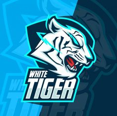 Find White Tiger Mascot Esport Logo Design stock images in HD and millions of other royalty-free stock photos, illustrations and vectors in the Shutterstock collection. Tiger Sketch, Tiger Drawing, Tiger Artwork, Tiger Painting, Game Logo Design, Best Logo Design, Logo Esport, White Tiger Tattoo, Tiger Photography