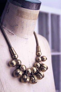 R.Vivl brass baubles