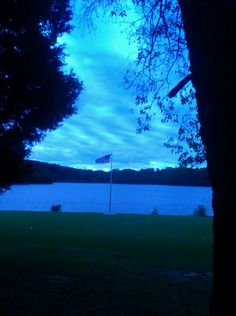 FLAG AT FT. LOUDON LAKE AT LENOIR CITY PARK