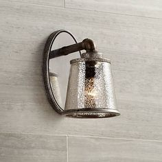 "Fillmore 9"" High Industrial Rust Wall Sconce - #5T440 