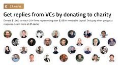Get replies from VCs and CEOs with 21 Lists – 21 – Medium