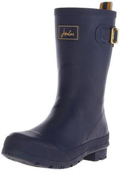 Joules T_Kellywelly, Women's Wellington Boots, Blue (Frnavy), 3 UK (36 EU)