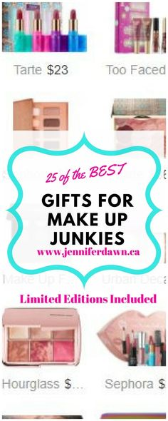 What is on the wish list of every makeup junkie?Check out these 25 must-have products that will make any beauty diva happy!