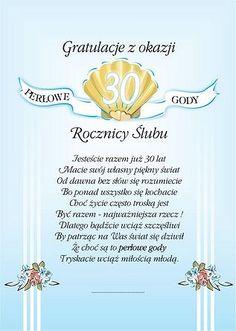 60 rocznica ślubu - Szukaj w Google Digi Stamps, Motto, Good To Know, Decoupage, Projects To Try, Tableware, Happy, Cards, Diy