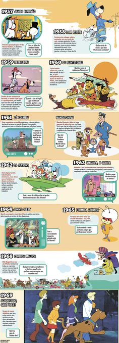 Hanna-Barbera Cartoon Timeline
