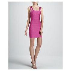 WOMEN'S DOUBLE-STRAP BANDAGE DRESS, CAPRICE - HERVE LEGER $980.00