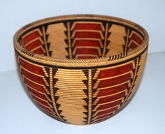 Basket Pattern Navajo by Jim Adkins - Pinner placed it on a Wood Board so may be basket illusion (?) No link
