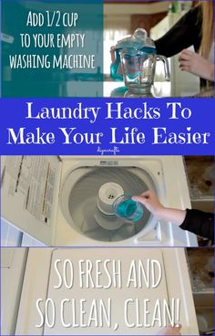 These Top 5 Laundry Hacks will Make Your Life and Clothing Better. These Top 5 Laundry Hacks will Make Your Life and Clothing Better Cleaning Recipes, House Cleaning Tips, Cleaning Hacks, Green Cleaning, Housekeeping Tips, Diy Cleaners, Kitchen Cleaners, Household Chores, Household Tips