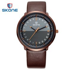 >> Click to Buy << 2017 SKONE New Style Fashion Amry Military Wristwatches for men Luxury PU Leather Sport Causal Simple Men's Watches #Affiliate
