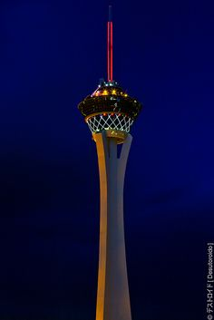 Stratosphere Hotel & Casino in Las Vegas... A very special place to me because it's where my fiancé proposed :))