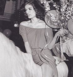 Bianca Jagger: Birthday party at Studio 54..... riding in on a white horse..... for an entrance !