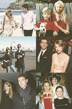 Taylor swift and Austin swift.