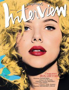 Scarlett Johansson na Interview
