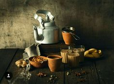Tea, Indian masala chai Styling this for teabox had me at my rustic best