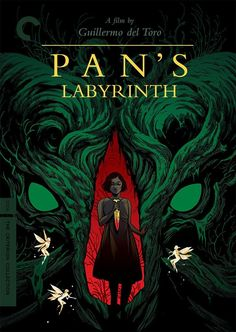 Pan's Labyrinth (Guillermo del Toro, 2006) - Criterion Collection cover