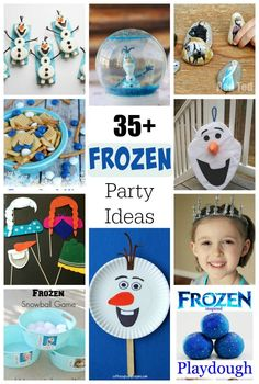 35+ crafts, games, and treats for a FROZEN birthday party!