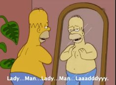 Because you're perfectly happy keeping yourself entertained. | 29 Signs You Are Homer Simpson