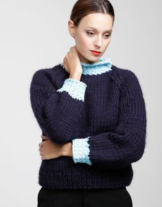 Royal Rose Sweater - Wool and The Gang Sale.
