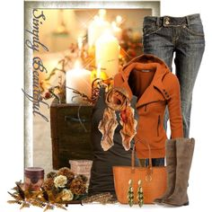 """""""Fall look"""" by cindycook10 on Polyvore"""