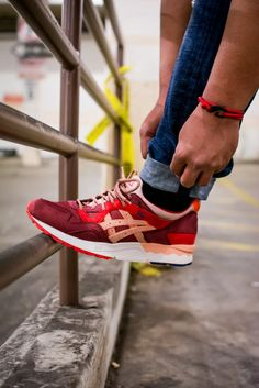 Asics x Ronnie Fieg collab. Volcano. #sneakers