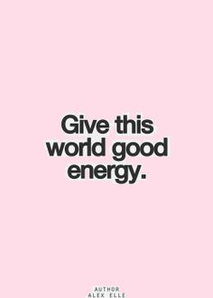 Good energy = Earth without Air]
