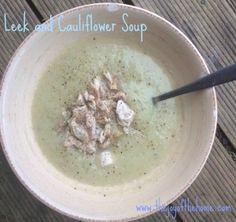 Cauliflower and Leek soup HCG Recipe Phase 2