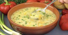Fantastické recepty na domáce poctivé polievky podľa receptov našich babičiek. Všetko, čo potrebujete sú len bežné suroviny, žiadne umelé dochucovadlá a bujóny. Polievky sú sýte a vynikajúce. My Recipes, Soup Recipes, Cooking Recipes, Healthy Recipes, Ukrainian Recipes, Russian Recipes, Pickling Cucumbers, Sour Cream, Cream Soup