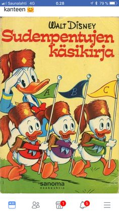 Hakkespettboken: håndbok for gutter og jenter Walt Disney, Disney Art, Donald Duck Comic, Duck Tales, Good Old Times, Game Guide, Stavanger, 80s Kids, Disney Junior