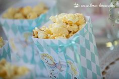 The popcorn.
