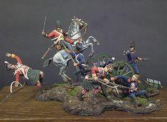 Scotland forever 1815! S7-S03 54 mm 1/32 | The Napoleonic Wars | Andrea Miniatures | ANDREA DEPOT USA, $360