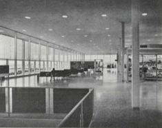 Visiting the Jet-Age Tulsa International Airport in Architectural Record Magazine – OKC Mod Precast Concrete Panels, Airport Design, Aluminum Screen, Architectural Photographers, Terrazzo Flooring, Mechanical Engineering, How To Level Ground, International Airport, Working Area