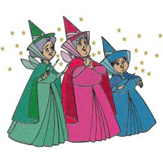 I've always loved the three little fairy godmothers from Cinderella <3#upliftingphilosophy @philosophy skin care
