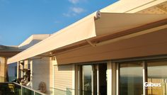 Dim - Folding Arm Awning with Front Valance.