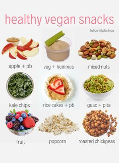 These simple and easy vegan snacks are quick to make! If your new to veganism, these snacks are great to try! If your looking for help with transitioning to a plant based diet check out our Plant Ahead Meal Prep Program. Plant Based Diet Meals, Plant Based Snacks, Plant Based Recipes, Plant Based Vegan Diet, Vegan Meal Plans, Vegan Meal Prep, Healthy Vegan Snacks, Vegan Foods, Vegan Nutrition