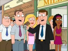 Family Guy Clip - Wallet in the face