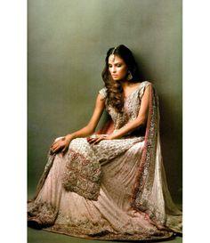 Hina khan design studio beautiful bridal wear pinterest design