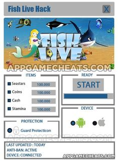 fish-live-cheats-hack-seastars-coins-cash-stamina