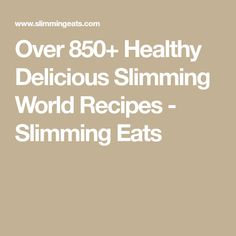 Over Healthy Delicious Slimming World Recipes - Slimming Eats Slimming World Meal Prep, Slimming Eats, Slimming World Recipes, Meals, Healthy, Meal, Health, Yemek, Food