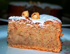 Teverga Hazelnut Cake (recipe is in Spanish) Cupcakes, Cake Cookies, Cupcake Cakes, Spanish Desserts, Spanish Dishes, Mexican Food Recipes, Sweet Recipes, Baking Recipes, Cake Recipes