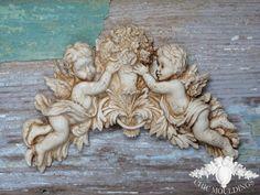 Best shabby chic cherub furniture mouldings appliques images