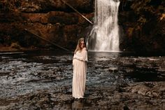 These Oregon maternity photos at Silver Falls will give you all the dreamy inspiration for your own maternity session! Alyssa and Kelii were the sweetest!   I'm Monique, an Oregon family photographer & Oregon maternity photographer, and I'd love to photograph your next family photos!! Maternity Photo Outfits, Maternity Session, Maternity Photos, Maternity Photographer, Family Photographer, Silver Falls, Anniversary Photos, New Baby Boys, Formal Looks