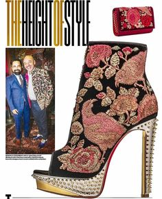 3b41da2a500  ChristianLouboutin on his collaboration with India s  Sabyasachi By   sujstyle for  khaleejtime