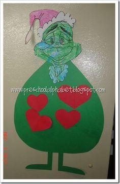 how the Grinch stole Christmas preschool activities